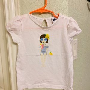 Janie and Jack toddler girl's top